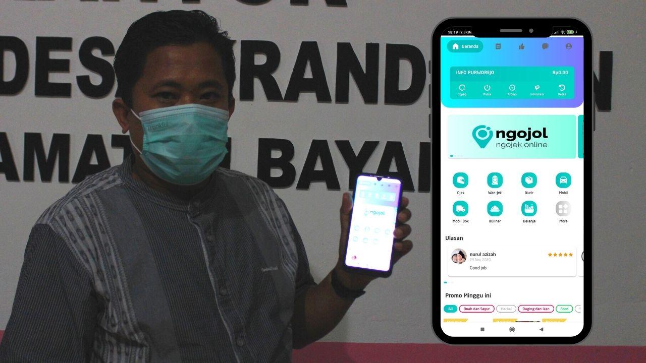 Aplikasi Ojek Online NGOJOL Purworejo